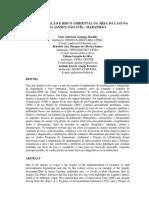 Caracterização e Risco Ambiental Na Área Da Laguna