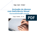 Curso Inclusao de Alunos Com Deficiencia Sp 07417