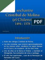 Cristobal de Molina (El Chileno)