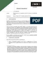 063-19 - Sencico - Oci -14551795- Contratación Directa de Servicio de Publicidad