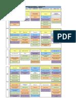 Calendario Examenes 2019-1