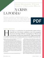 TS Eliot La poesía en crisis