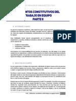 Elementos Constitutivos Del Trabajo en Equipo Parte II