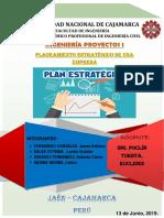 Planeamiento Estratégico de Empresas (Ing. Proyectos)