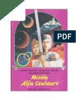 Constelaciones 02 Misión Alfa Centauro (Librojuego)