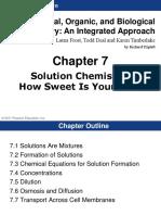 Solution Chemsitry