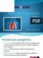 Diapositiva de Tuberculosis Pulmonar