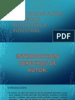 DERECHOS DE AUTOR, PROPIEDAD INTELECTUAL E INDUSTRIAL.pptx