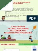 Analgesicos Antiinflamatorios Antitermicos y Antibioticos en Pediatria