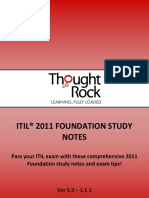 The ITIL 2011 Tought Rock Study Notes Fullver 120530