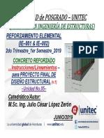 Ppt Lineamientos Proyectofinal Concreto Ie001 Ie002 2019q2 v1
