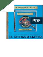 Detectives de La Historia 03 El Antiguo Egipto -Libro de Información