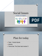 Social Issues Powerpoint