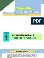 Higiene y Salud Mental
