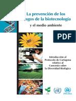La Prevención de Los Riesgos de La Biotec