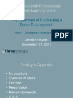 Developing a Fundraising Plan