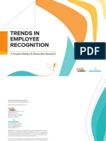 RESEARCH Trends in Employee Recognition