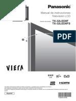 Televisor PANASONIC TX32LED8F - Manual.pdf