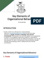 Key Elements of OB by Govinda Raju