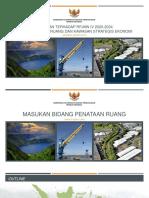 Presentasi Masukan RPJMN IV Bid. Tata Ruang