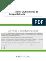 Presentacion Derechos de La Seguridad Social
