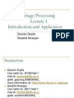 Image Processing Introduction and Application