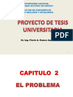 Capitulo 2 El Problema Tesis