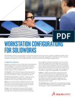 Solidworks Workstation Configuration Guide