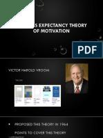 Vroom's Theory