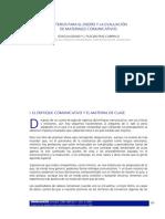 3.- Criterios Para La Evaluación y El Diseño de Materiales Comunicativos.