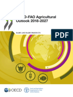 Agricultural Outlook 2018 Dairy