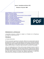 Constitution Cameroun (Revisee Le 18 Janvier 1996) (1)