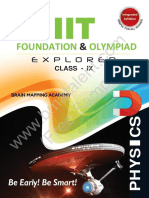 IIT Foundation Olympiad Explorer Class 9 Physics