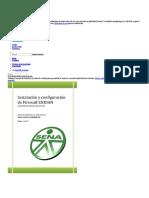 Instalación y Configuración Firewall ENDIAN