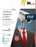 The 2019 State of Artificial Intelligence in Talent Acquisition ResearchReport