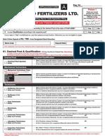 EFL Pakistan Application Form Www.jobsalert.pk