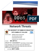 Cybersecurity (network threats)