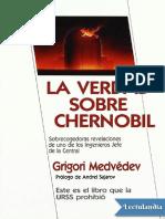La Verdad Sobre Chernobil - Grigori Medvedev