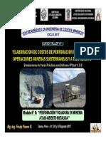 Módulo 6 - Perforación y Voladura en Mineria a Tajo Abierto Metalica (03-Ago-17)