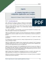 Algerie Reglement 2009 04 Regles Comptables Applicables Aux Banques