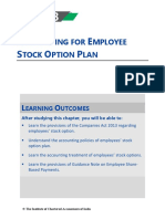 ESOP ( Employee stock options )