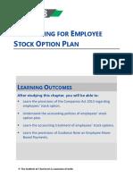 ESOP ( Employee stock options )