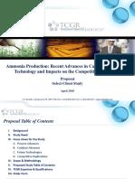 PROP Ammonia Production April 2018