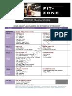 FIT ZONE Nutrition Plan for WOMEN by Guru Mann