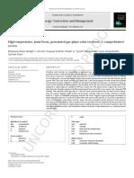 High-temperature, point-focus, pressurised gas-phase solar receivers