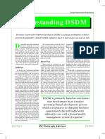 Understanding DSDM