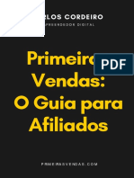 Montar Copy eBook Primeiras Vendas