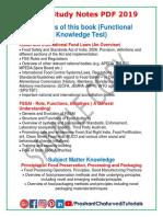 FSSAI-Guide-2019 Sample Copy PrashantChaturvedi.com