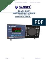Black Body Temperature Source Bcal 502-V1