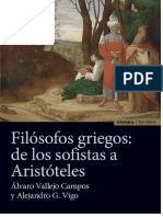 Vallejo Campos, et. al., Filósofos griegos. De los sofistas a Aristóteles,  EUNSA  2017.docx
